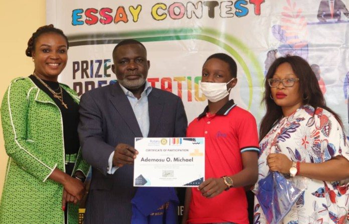 Congratulations! SS3 Student Wins Rotary Club Essay Competition Out Of 251 Participants