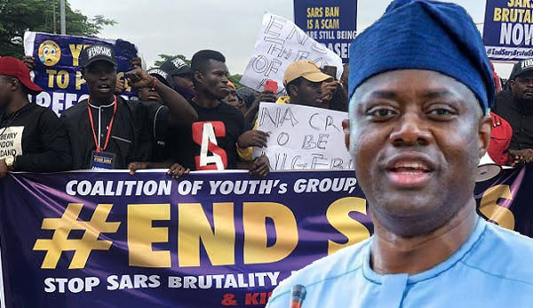 EndSARS: Makinde Create Platforms For Residents To Report Police Brutality