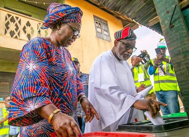 Ondo Decides: I Was Not Injured At Polling Centre-Says Akeredolu's Wife