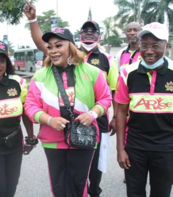 Governors' Wives, Minister, Others Join Siju Iluyomade In 2020 'ARISE WALK FOR LIFE'