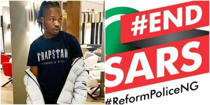 #EndSARS: Why I Cancelled Today's Protest - Naira Marley