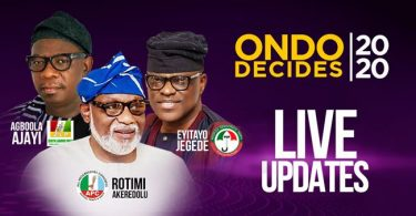 Ondo Decides: ZLP Candidate, Ajayi Clears Polling Unit