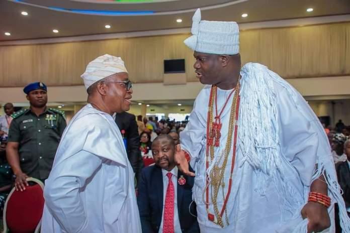 Congratulation! Oyetola Celebrates Ooni @46, Describes Him As A Frontier Of Peace And Unity