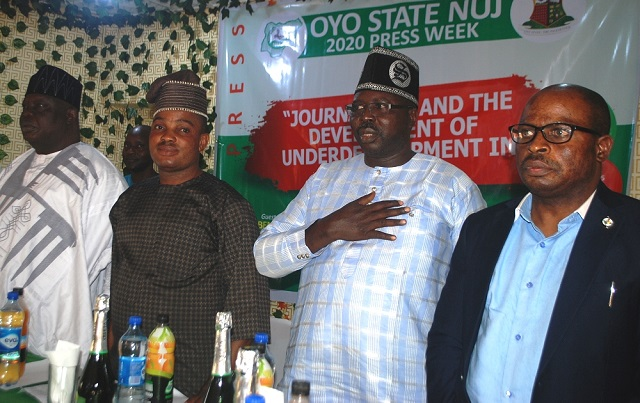 NUJ Week: Lagos Commissioner Laud Journalists Over Covid-19 Coverage