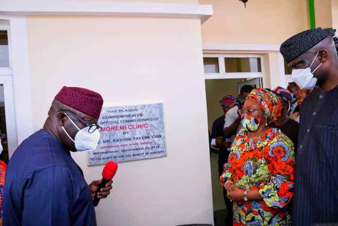 Fayemi Inaugurates Clinic For Sexual Assault Victims