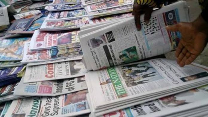 Newspaper Headlines From Nigerian Dailies Today, May 13, 2021
