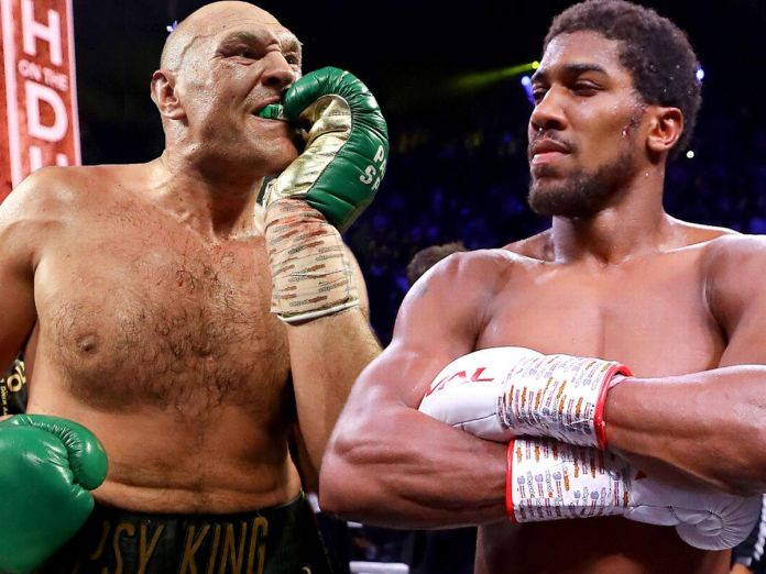 Breaking: Tyson Fury Confirms Fight With Anthony Joshua In Saudi Arabia(See Date Here)
