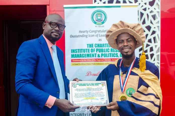 Labo Conferred As CIPRMPG Ambassador