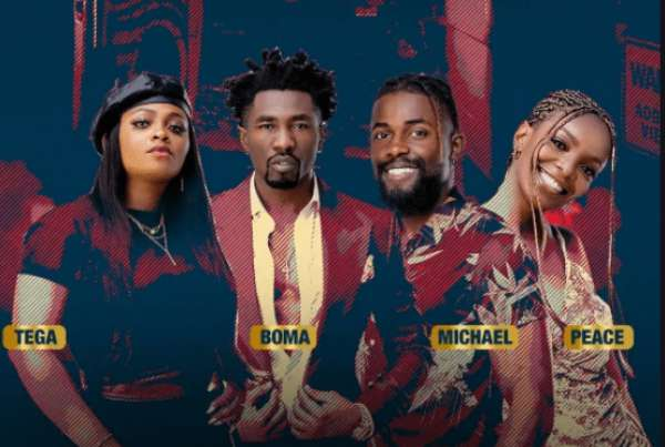 BBNaija Eviction: See How Nigerians Voted For Boma, Tega, Peace And Michael