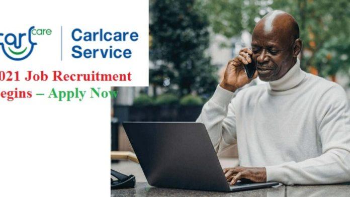 Recruitment: Apply For Carlcare (TECNO) Job Vacancies