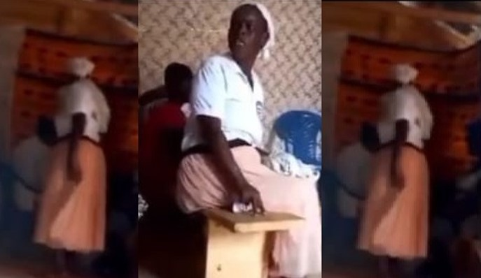 See Video Of Moment Woman Storms Church To Take Back Her Tithes And Offerings