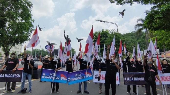 Warga Solo Deklarasikan #Jaga Indonesia, Sikapi Aksi Intoleran dan Anarkis