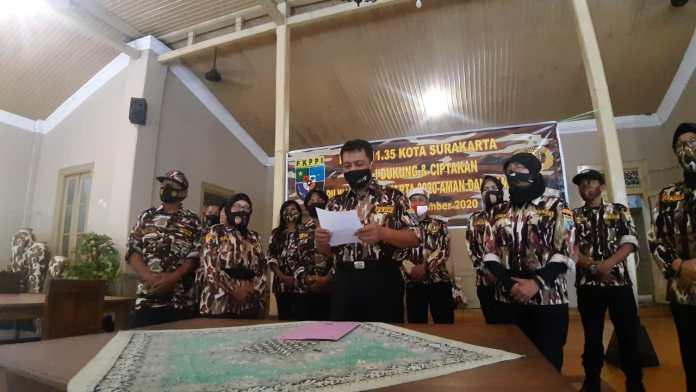 FKPPI Ajak Warga Solo Gunakan Hak Pilih Pada Pilwakot  Solo 2020