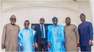 South-West Governors, Gbajabiamila, and others meet with Tinubu on Sunday.