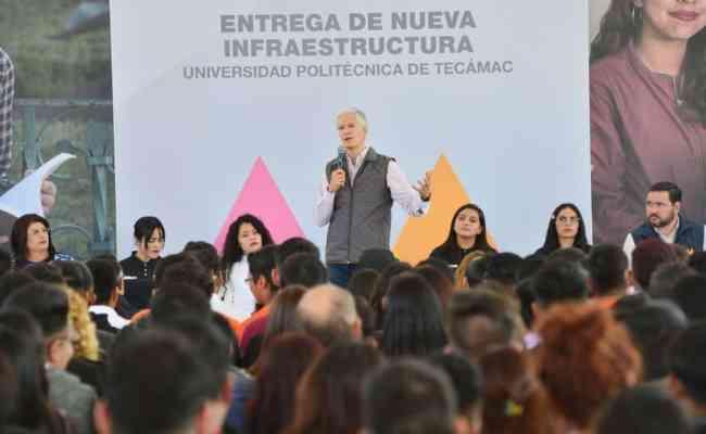 Entrega Alfredo Del Mazo Ampliación De La Universidad