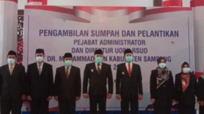 Pejabat Baru Dirut RSUD Sampang