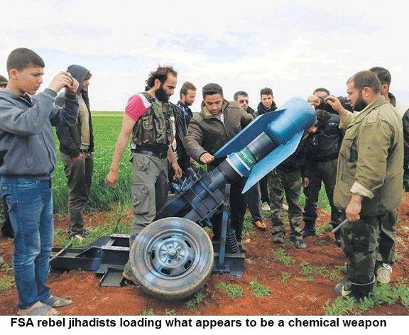 Syrian rebels using CW