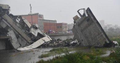 Gorjeanul, care supraviețuise prăbușirii podului din Genova, s-a stins din viață