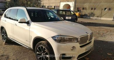 Dosar penal pentru un şofer depistat cu un BMW  căutat de autoritățile italiene