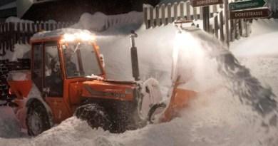 Noi avertizări privind creşterea riscului de producere a avalanşelor în Austria