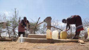 Green Water Excites Villagers in Lenkisim