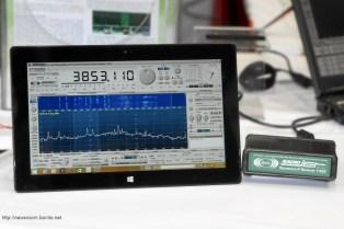 RadioJet 1102S on Microsoft Surface 2 in Dayton