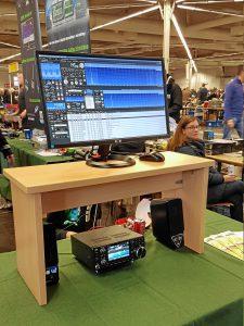 Bonito RadioCom 6 mit dem ICOM IC-7300