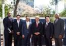 (Image) OCI Solar, Mayor Julian Castro, CEO