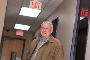 (Image) Oak Hills Church plant engineer Doyle Jennings calculated a $13,000 savings over 20 years just replacing incandescent bulbs with LEDs in the church EXIT signs.