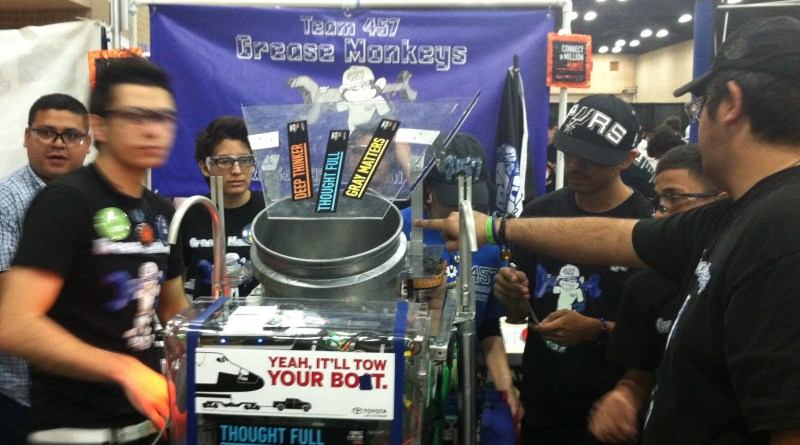 (Image) South San Grease Monkeys, Alamo FIRST robotics competition