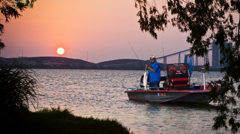 (Image) Calaveras Lake was built to cool CPS Energy's power plants, but now provides fishing and other recreational opportunities for the area.