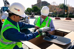 CPS Energy partnered with GreenStar, recently acquired by Toshiba Lighting, to install LED lighting in San Antonio streetlights.