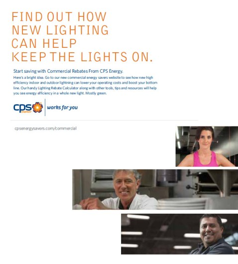 Energy Savers commercial customers