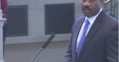 Still video image of CEO Doyle Beneby