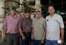 (Image) Retired CPS Energy employees Robert Jaeckle, Ed Niestroy, Charles Henry and Doug Stockton all served as welders at the Tuttle plant.