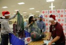 (Image) CPS Energy volunteers, Salvation Army, giving gifts