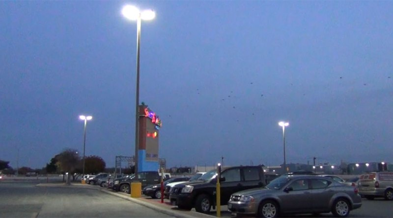 (Image) CPS Energy rebated almost 40 percent of the cost to upgrade South Park Mall lights to LEDs.