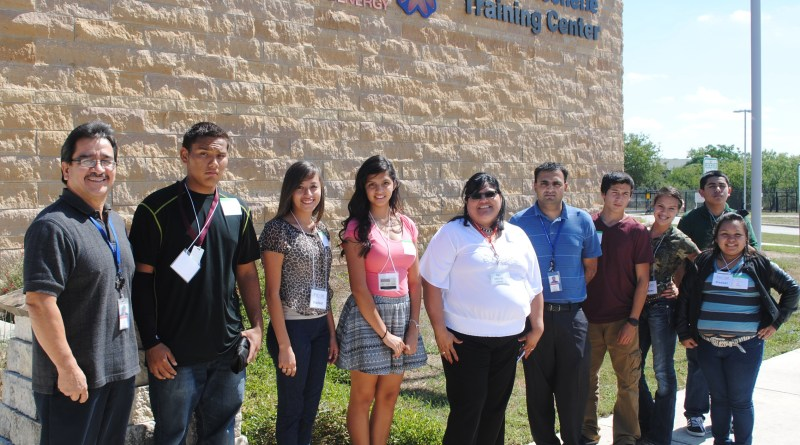 (Image) Migrant students learned what it takes to work for CPS Energy.