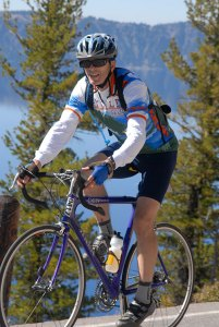 (Image) Cryer has cycled many times through the Great Northwest and other challenging areas.