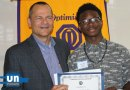 David Luschen with student