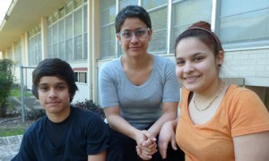 (Image) Roxana and her two children, Cesar and Daniela, are one of many families in our community that have benefitted from SAMMinistries over the last 35 years.