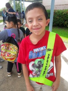 (Image) Romeo, now 10, has endured multiple heart surgeries. Along with taking in blood donations for Romeo, the American Heart Association provided bill assistance and food for the Deltoros.