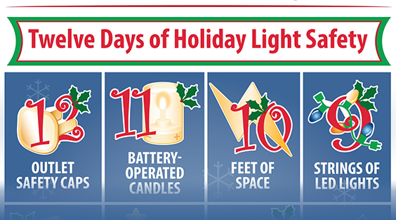 12 Days of Holiday Decorating Safety