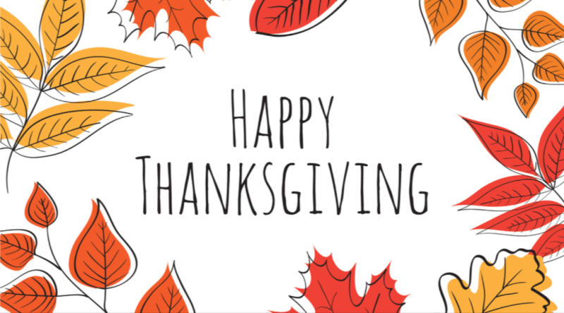Image of Happy Thanksgiving message from CPS Energy