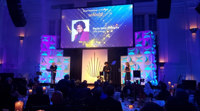 CPS ENERGY PRESIDENT & CEO PAULA GOLD-WILLIAMS HONORED WITH S&P GLOBAL ENERGY CHIEF TRAILBLAZER OF THE YEAR AWARD