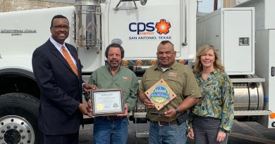 Going for Gold- CPS Energy Salado Garage Awarded Gold Recycling Certification