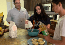 (Image) Family cooking in the kitchen