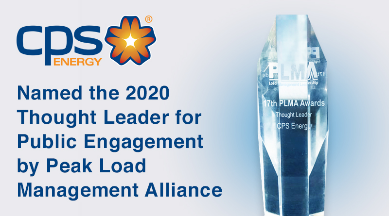 CPS Energy receives Thought Leader Award for Public Engagement