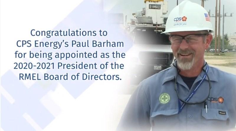 Paul Barham, Senior Vice President of EDS, CPS Energy on the field