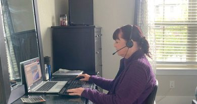 Lorri Williams, CPS Energy Advisor is working remotely